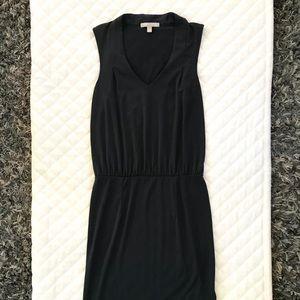 Stretchy, light fabric dress.